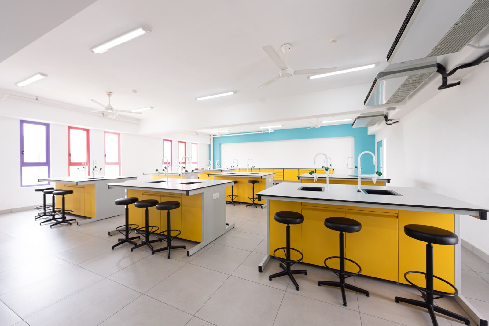 State-Of-The-Art School Facilities